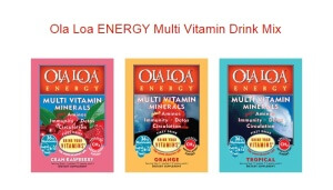 Free Multi Vitamin Drink Mix