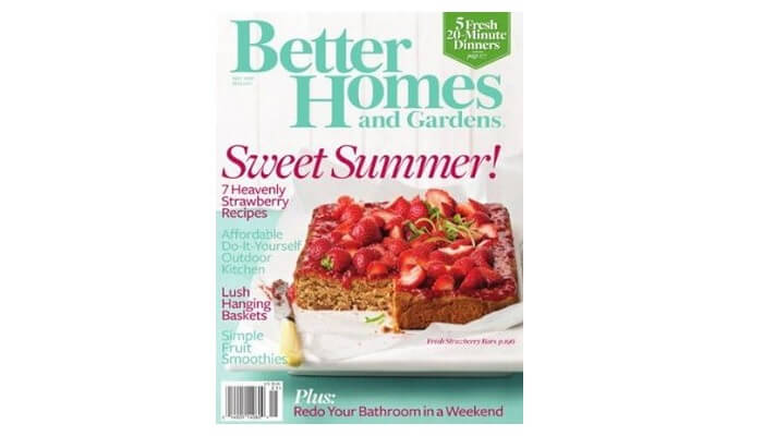 Better Homes And Gardens Magazine Free Samples 4 All