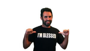 Free I'm Blessed T-Shirt
