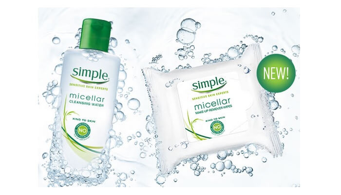 Free Simple Cleansing Wipes