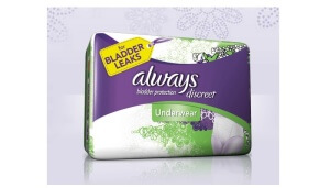 Free Always Discreet Pads