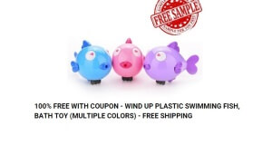 Free Toy Fish Samples