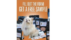 Free Powder 4 Paws Natural Dog Food Supplement Sample