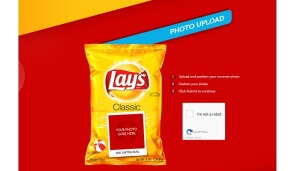 Free Customized Lay's Chip Bags