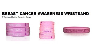 Free Breast Cancer Awareness Wristbands