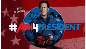 Parody Ash for President Swag