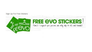 Free Evo Stickers