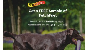 Free Fetch Fuel for Dogs