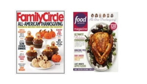 Two Free Magazine Subscriptions