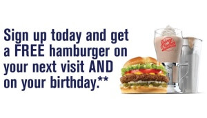 Free Johnny Rockets Burger