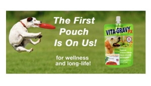 Free Vita-Gravy Dog Food Topping