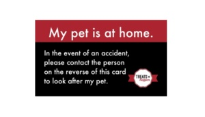 Free Pet Safety Card