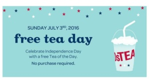 Free Tea at DavidsTea on July 3rd