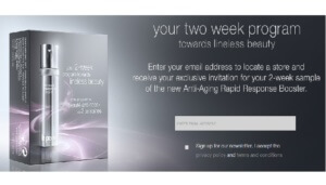 Free 2 Week La Prairie Anti-Aging Rapid Response Booster Sample