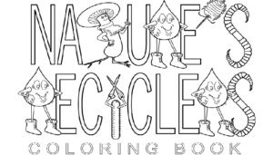 Free Nature's Recycling Bug Coloring Book