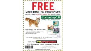 Free Advantage II For Cats at Pet Supermarket