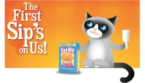 Free Cat-Sip Real Milk Treat Sample