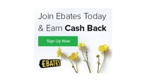 Ebates Pays for Shopping Online