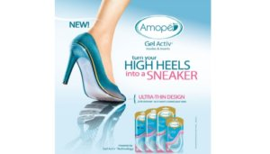 Free Amope Gel Activ Insoles and Inserts