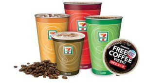 Free Coffee Week at 7-Eleven