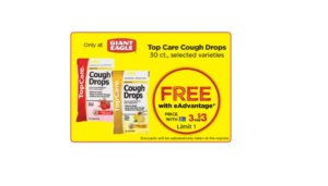 Free Top Care Cough Drops at Giant Eagle