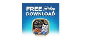 Free Cesar Premium Wet Dog Food