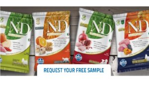 Free Farmina Natural & Delicious Dog and Cat Food Samples