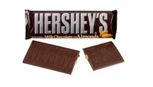 Free Hershey's Milk Chocolate with Almonds Bar