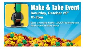 """Free Lego Make and Take Event at Toys """"R"""" Us"""