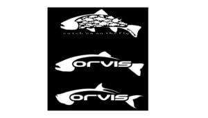 Free Orvis Fish Sticker