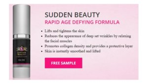 Free Sudden Beauty Rapid Age Defying Formula Sample