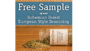 Free Bohemian Forest Seasoning Sample