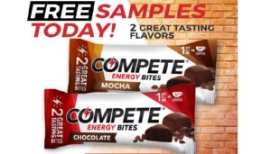 Free Compete Energy Bites Samples