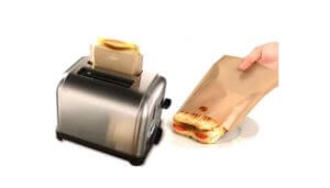 Free Reusable Toaster Sandwich Bag