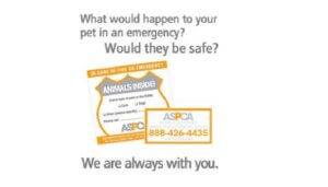 Free Animals Inside Alert Sticker