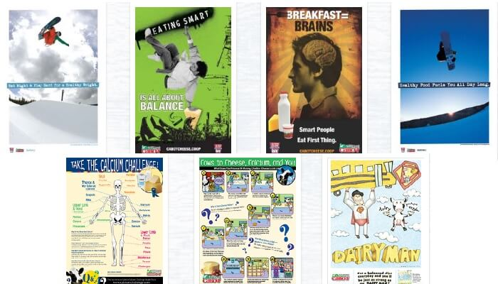 Free Healthy Eating Posters - Free Samples 4 All