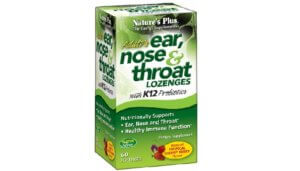 Free Nature's Plus Adult's Ear, Nose & Throat Lozenges Sample