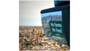 Free No Farms No Food Sticker