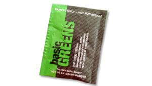 Free Basic Greens Dietary Supplement Sample
