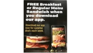 Free Breakfast or Regular Sandwich Meal at McDonald's