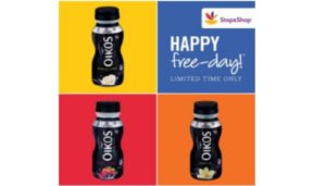 Free Dannon Oikos Drink at Stop & Shop