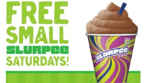 Free Slurpees at 7-Eleven