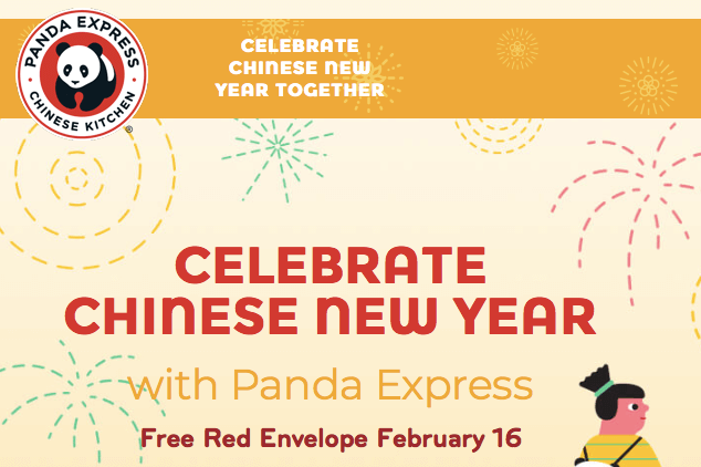 Free Surprise Item at Panda Express Only 2/16/18