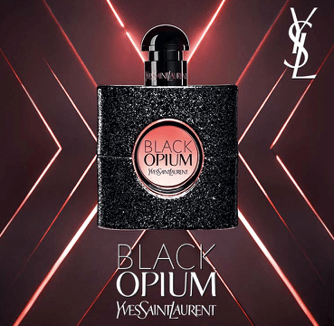 Free sample of Black Opium Perfume by Yves Saint Lauren