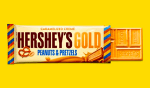 Free Hershey's Gold Bars every time a US Team earns a Gold Metal