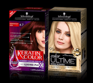 Free Box of Schwarzkopf ULTIME or Keratin Color with Rebate