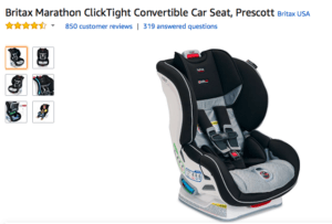 Britax Car Seats Up to 30% Off