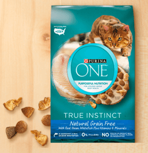 Free Purina One True Instinct For Cats Sample