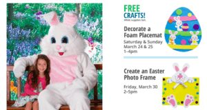 Free 4X6 Photo With Easter Bunny and More at Bass Pro